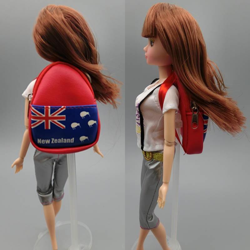 Fashion 1 6 font b Dolls b font Bag Backpack For Barbie font b Doll b
