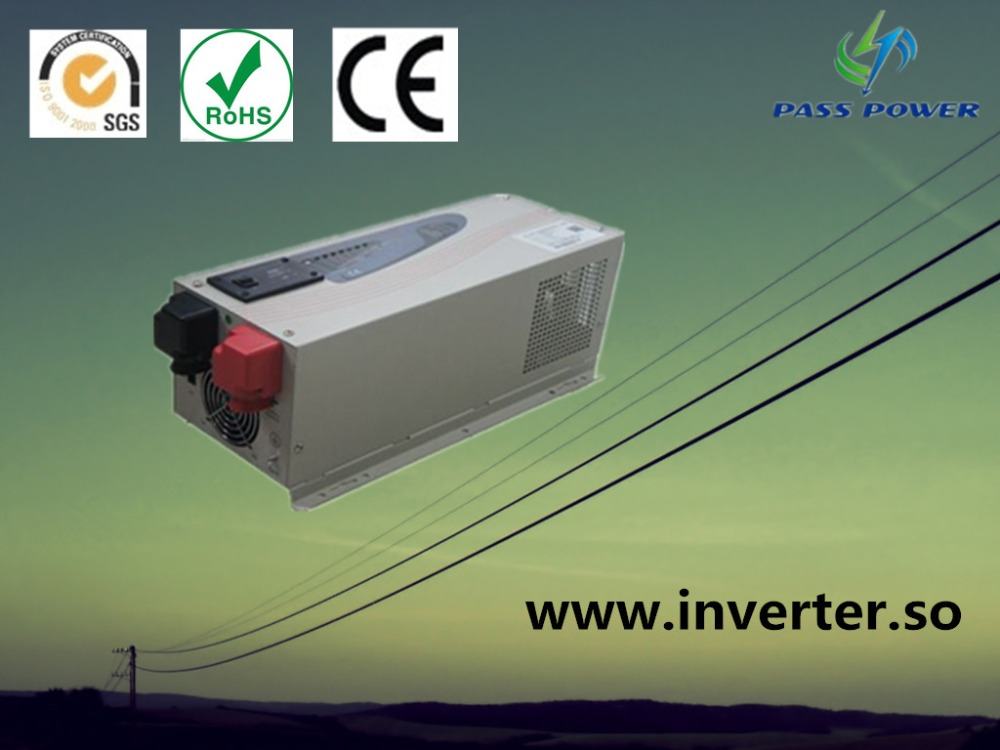 CE approved ,off grid micro solar inverter low frequency 12v 24v 48v 3000w pure sine wave 750w 24v 10a solar inverter with controller can resist impact of large current starting loads ce iso approved