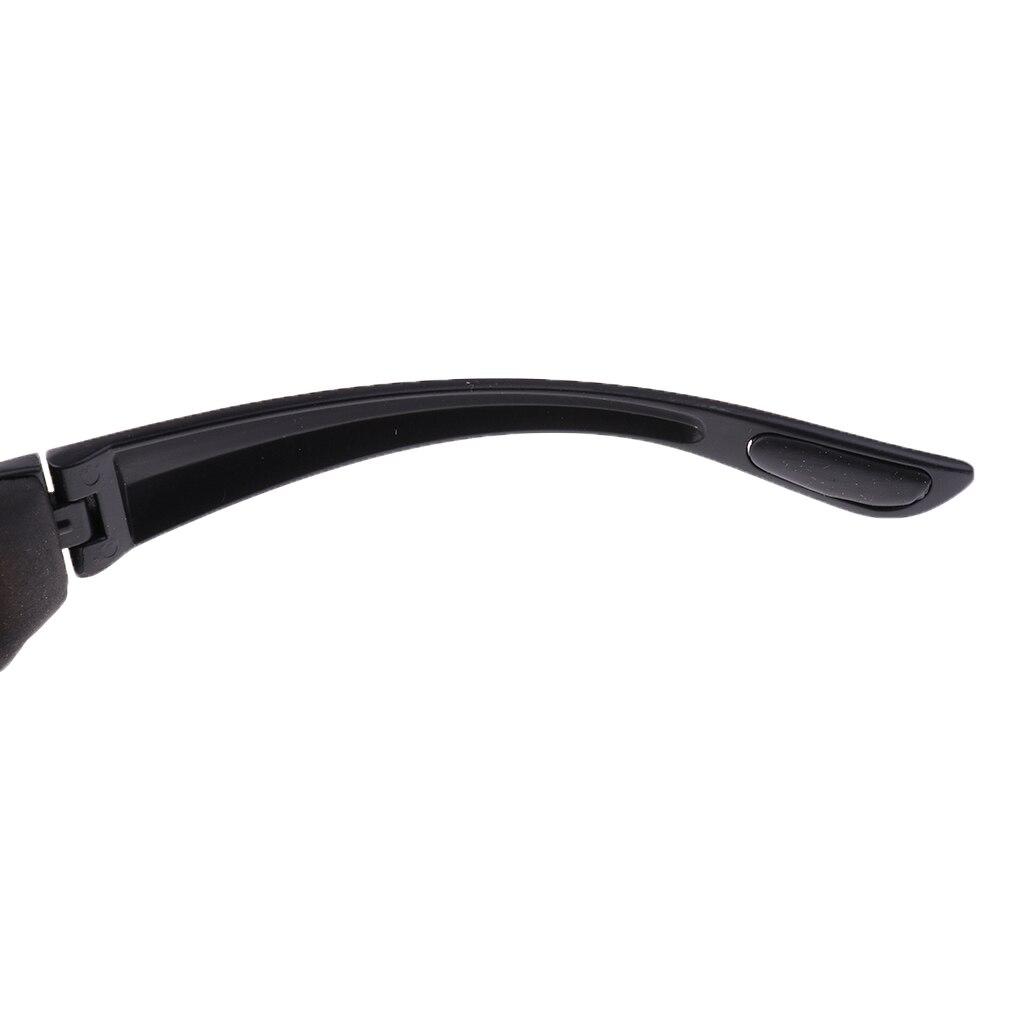 1 Pcs Motorcycle Glasses Polarized Sunglasses Cycling Eyewear Outdoor Sports Bike Goggles Windproof Glasses UV400 Lenses