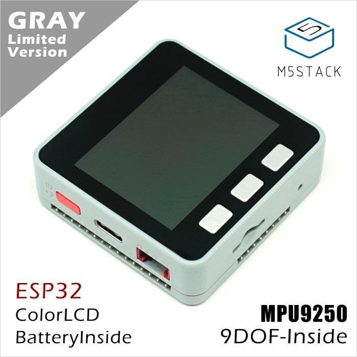 Oficial Em Estoque ESP32 M5Stack Mpu9250 9 Axies Motion Sensor Kit de Desenvolvimento do Núcleo Extensível IoT Placa de Desenvolvimento para Arduino