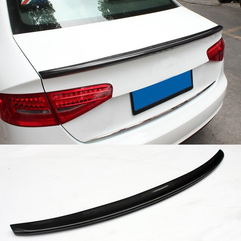 S-4 Novo Estilo fibra de Carbono Tronco Spoiler Fit For Audi A4L B9
