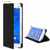Luxury PU Leather Case For Sony Xperia Z2 Z3 Z5 Compact Premium Plus C3 C5 M4