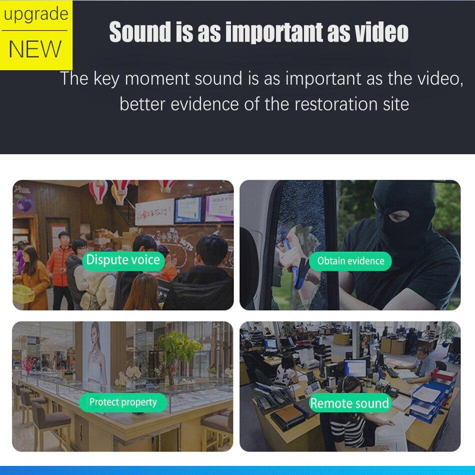 Image 3 - Встроенная аудио H.265 IP камера 1080P 3mp 5mp 2,8 мм 3,6 мм ONVIF 48 в poe сетевая ipcam Внутренняя купольная камера l XMEye CCTV-in Камеры видеонаблюдения from Безопасность и защита