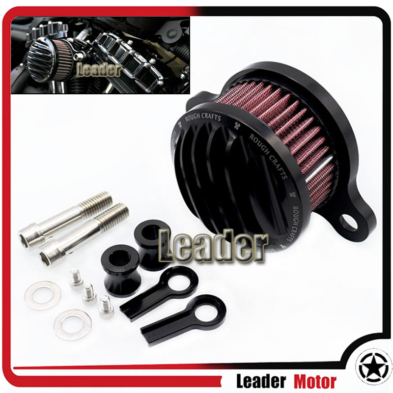 For Harley sportster XL883/1200 04-UP  Motorcycle Accessories Air Filter Air Cleaner+Intake Filter System RC Case