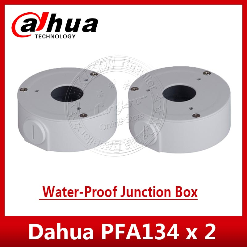 2PCS/lot DAHUA PFA134 Water-proof Junction Box DH-PFA134 For IPC-HFW1320S IPC-HFW1431S & IPC-HFW2325S-W IP Camera