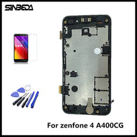 Sinbeda AAAA Quality For ASUS Zenfone 4 A400CG 4 0 LCD Screen Display Touch Screen Digitizer