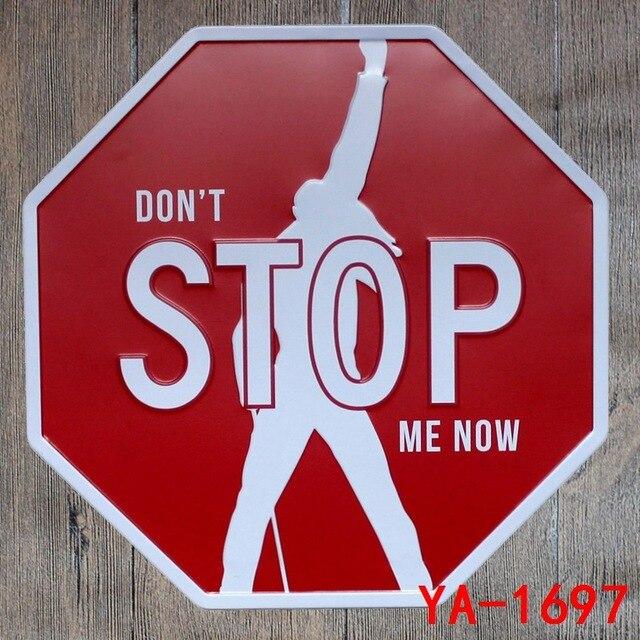 Aliexpress Com Buy 30x30cm Don T Stop Me Now Vintage Home Decor