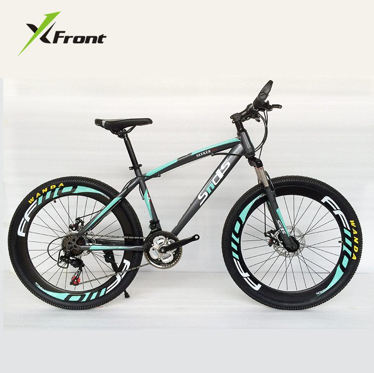 Original X-Front Brand Snowmobile 21 Speeds 26 Inch Tire Disc Brake MTB Mountain Bike Off-road Gear Reduction Beach Bike