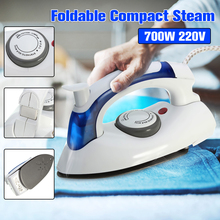 Electric Iron Portable Handheld Steam Travel Foldable Irons Steam Temperature Control Dual Voltage 700W 220V Household