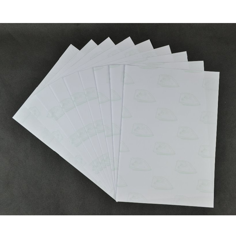 (A3*50pcs) Self Weeding Paper Laser Heat Transfer Printing Paper For Clothes White Color Thermal Transfers Papel No Cut Paper