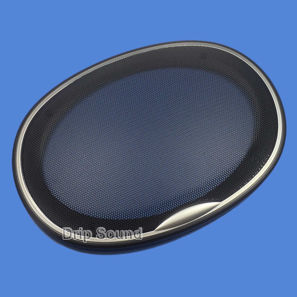 """For 8""""x8"""" 8x8 inch Speaker Grill Cover Car Audio Decorative Circle Metal  Mesh Grille Protection"""