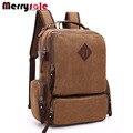 Европа стиль большой емкости практическая компьютерная сумка вертикальная пункт площади путешествия холщовый мешок студент мешок