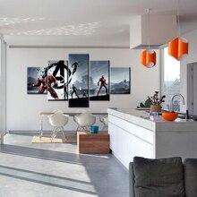2019 Hot Movie Marvel Superhero Film Avengers 4 Endgame Art Poster Print Wall Picture for Living Room Home Decoration Artwork