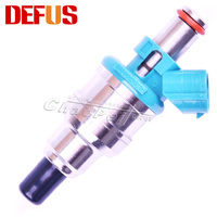 Genuine 195500 3650 High Quality Fuel Injector For Japanese Car Fuel Spray Nozzle Flow Matched Auto