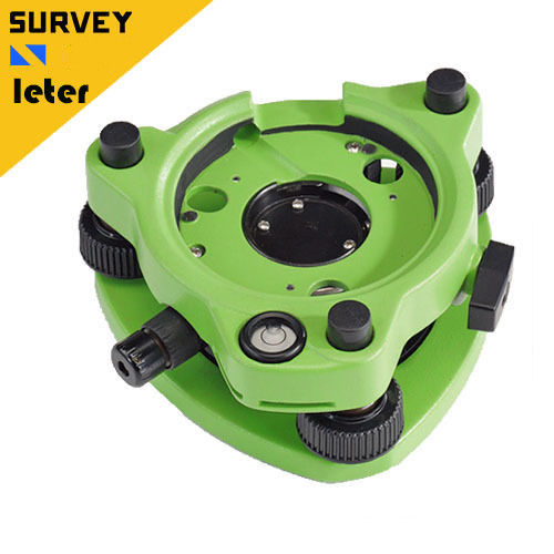 New GDF322, Tribrach with Optical Plummet for Total Stations etc single prism with soft bag for leica type total stations
