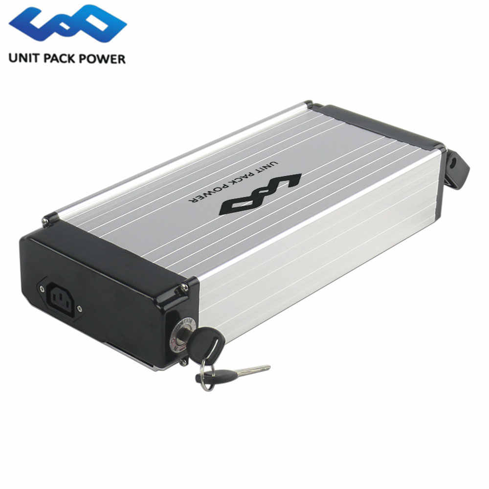 48V 14Ah Rear Rack Ebike Battery 1000W Lithium Electric Bicycle Battery for 48V Bafang BBS02 BBS03