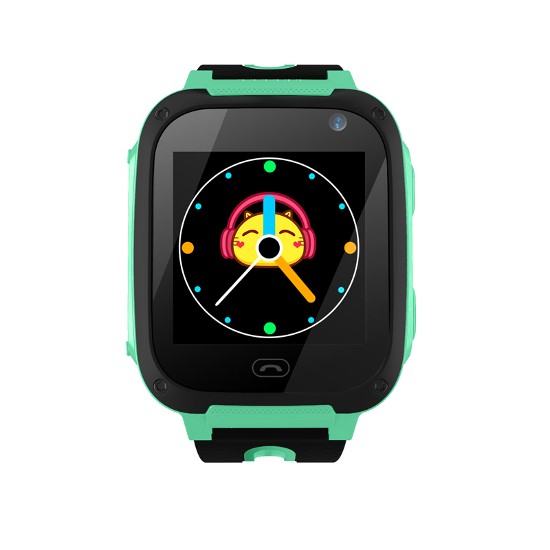 YHXS Smart GPRS LBS Real-time Tracker Location SOS Call Remote Camera Monitor Flashlight Kids Child Watch Student Wristwatch