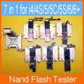 Hdd nand flash probador y herramienta placa base para iphone 4 4s 5 5c 5s 6 plus teléfono móvil teléfono móvil reparación de la máquina