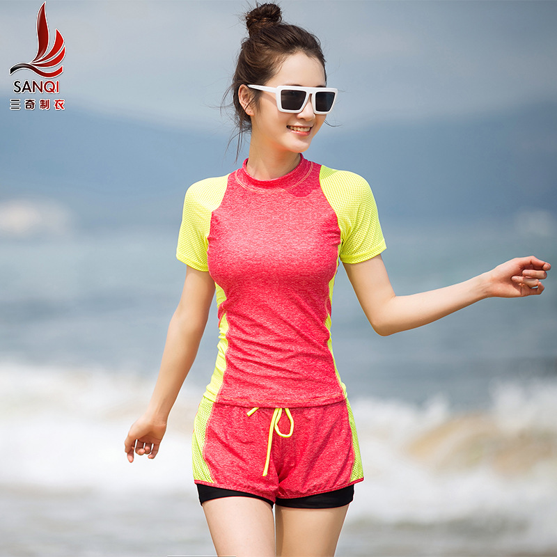 Bikini 2017 Push Up Swimwear Women 2 Piece Lady Female Cheap Girls Short Long Sleeve Movement Sanqi Mayo Badpak Biquinis Costume 2016 cheap wig women lady scheap short
