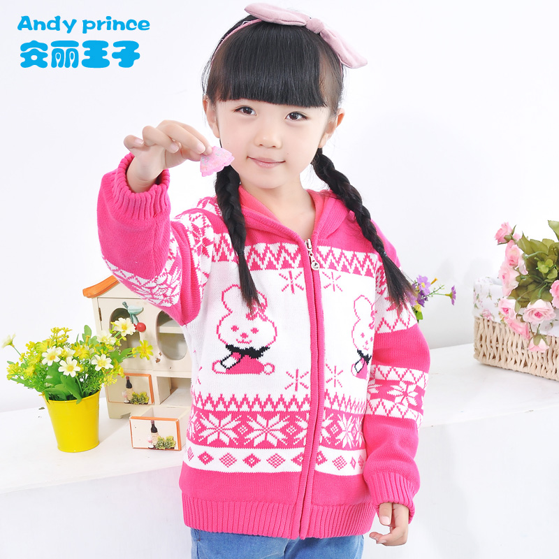 2018 New 100% Cotton Autumn and Winter Cute Rabbit Pattern Girl Child Sweater Outerwear Cardigan Sweater Children's Clothing laptop battery for sonyp vgpvgp bpl21 vg bps21 vgp bps21a vgp bps21 s bps21a b vgp bps21b battery