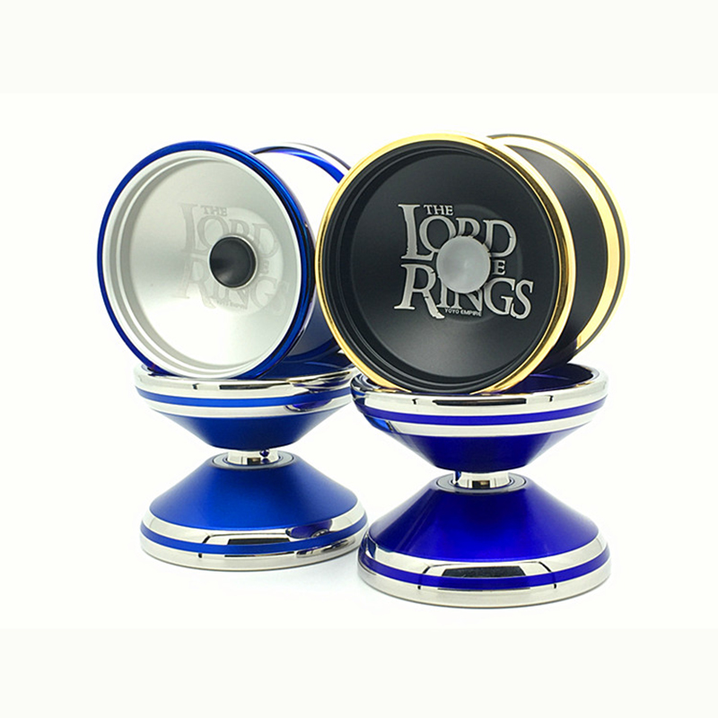 New Arrive YOYO EMPIRE leader of rings yoyo Bimetallic ring Colorful yo-yo metal Yoyo for Professional yo-yo player Metal yoyo new arrive magicyoyo stealth yoyo magical m04 metal professional yo yo athletic competition diabolo free shipping