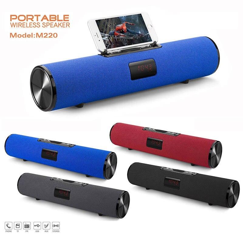 Haut-parleur Bluetooth colonne sans fil portable boîte de son 20W stéréo caisson de basses fm radio boombox tv tf aux usb pc barre de son pour xiaomi