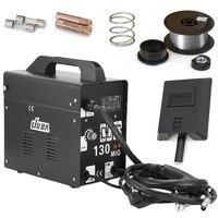 MIG 230 газовый сварочный аппарат Professional В 130 в электрическая сварочная машина прочный MIG сварочное оборудование ЕС розетка