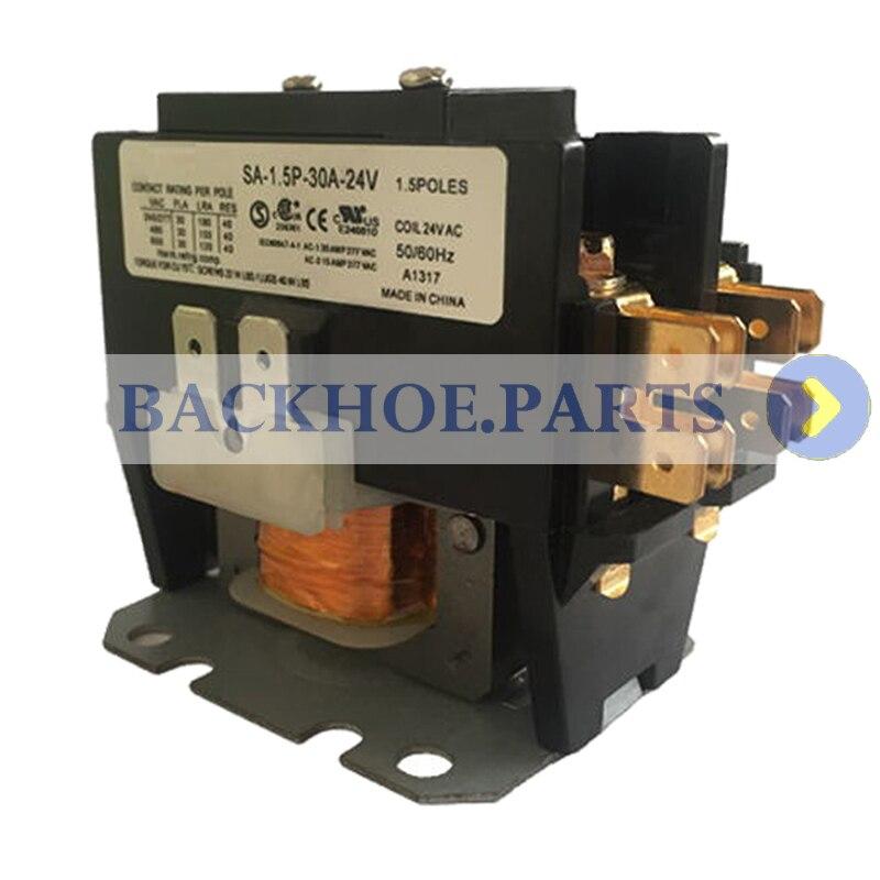 SA-1.5P-30A-120V 1.5 Pole 30 AMP 40AMP 120V Coil Definite Purpose Contactor