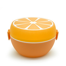 Creative 2 Layers Lunch Box Microwave Dishes Food Container Bento Box Lunchbox Kitchen Accessories Storage Boxes feigo 1pcs hamburger burger shape bento box lunch box for kids food container lunchbox plastic kitchen food novelty picnic f488