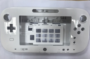 Image 2 - שחור לבן מקורי עבור wiiu gamepad החלפת כיסוי case shell השיכון ללא סוללה