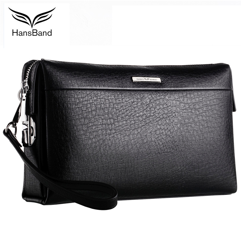 Famous Brand Men Wallets Genuine Leather Clutch Bag Cowhide Vintage Purse Large Capacity Clutch Wallet Carteira Masculina