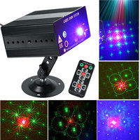 ZjRight Red Green 48 kind of pattern Laser Projector Club Lighting Party Disco Laser Light Stage Effect LED Laser Show System
