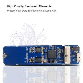 SSD エンクロージャ Ssd リーダー macbook (2013 2014 2015 2016) USB 3.0 に SSD アダプタ Macbook Air Pro の網膜