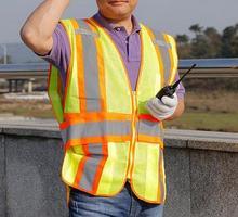 Road Traffic Safety Vest Reflective Safety Warning Sanitation Working Clothing