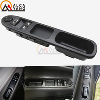 Electric Master Control Power Lifter Window Switch 6554 QC 6554QC For Peugeot 207 Citroen C3 Picasso
