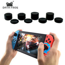 8Pcs Anti-Slip Silicone Thumb Grips Thumbstick Caps Case For Joy-Con Controller