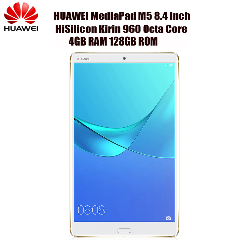 HUAWEI MediaPad M5 SHT - W09C 8.4 inch Android 8.0 Tablet 4GB 128GB HiSilicon Kirin 960 Octa Core 2.4G/5.0G WiFi 13MP Camers