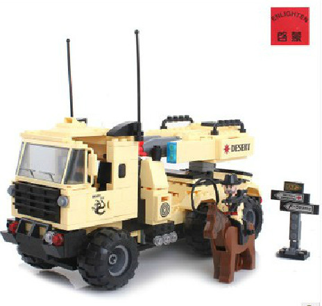 model building kits compatible with lego city army 607 3D blocks Educational model & building toys hobbies for children
