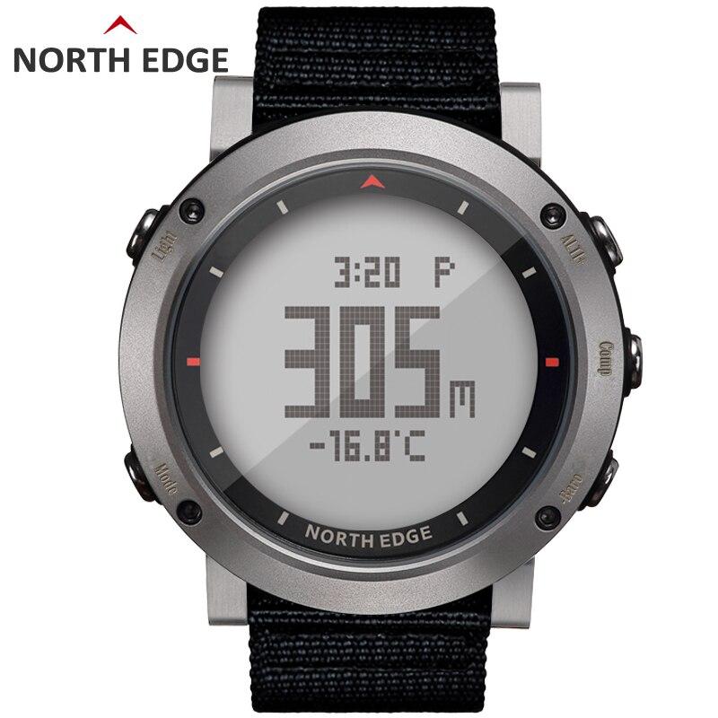NORD BORD Hommes de sport montre digitale Heures de Course De Natation montre de sport altimètre baromètre Boussole Thermomètre Météo hommes - 4