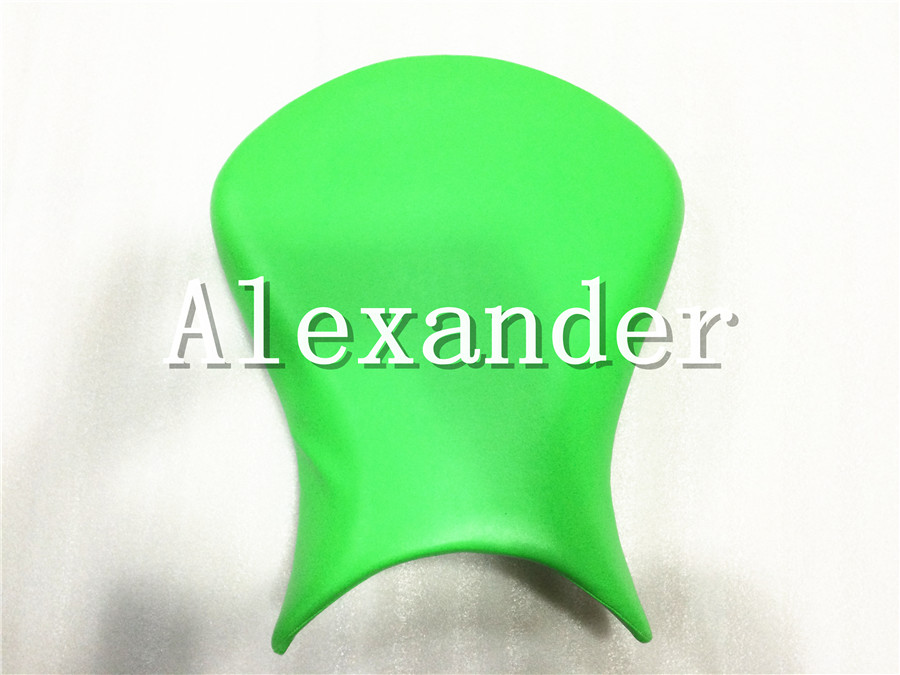 For Kawasaki ZX16R 636 2007-2008 Green Motorcycle Scooter Front Rider Seat Leather Foam Plastic Cover Cushion ZX-6R