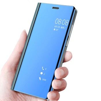Mirror Clear View Flip Cover For Huawei Mate 10 Pro Flip Case For Huawei P10  P 10 Plus P9 P8 lite 2017 Honor 8 lite Capa резак для щеток стеклоочистителей