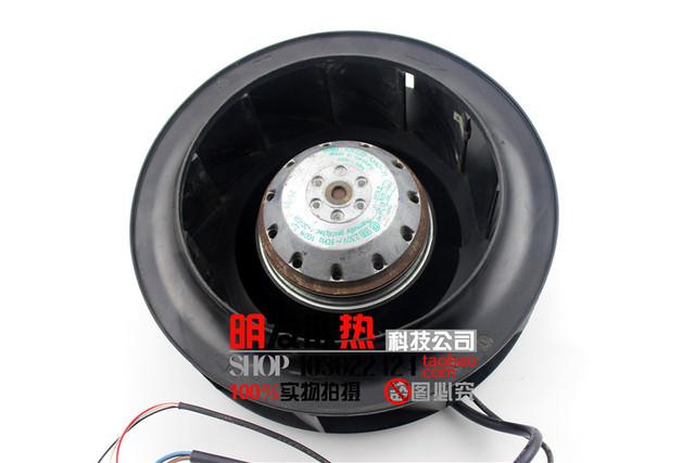 R2E220-AA40-71/23 auténtico original 85 W 230 V ventilador tipo centrífugo de vuelco trasero