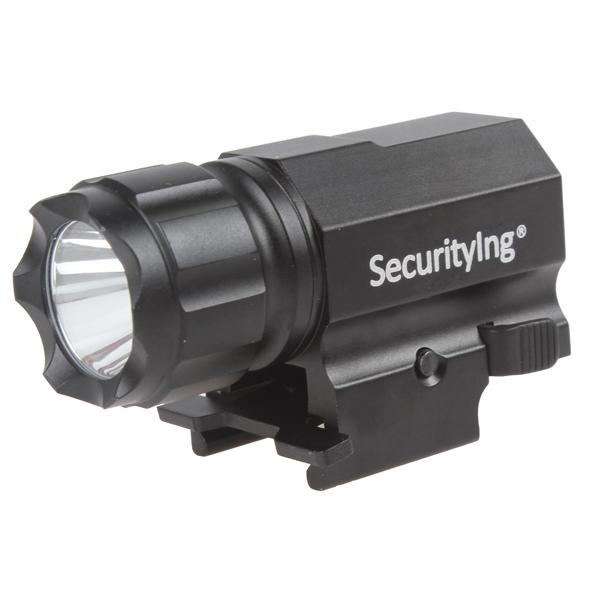 Sale SecurityIng 600 Lumens R5 LED Tactical Gun Lanternă P05 Design compact și ușor, convenabil de transport