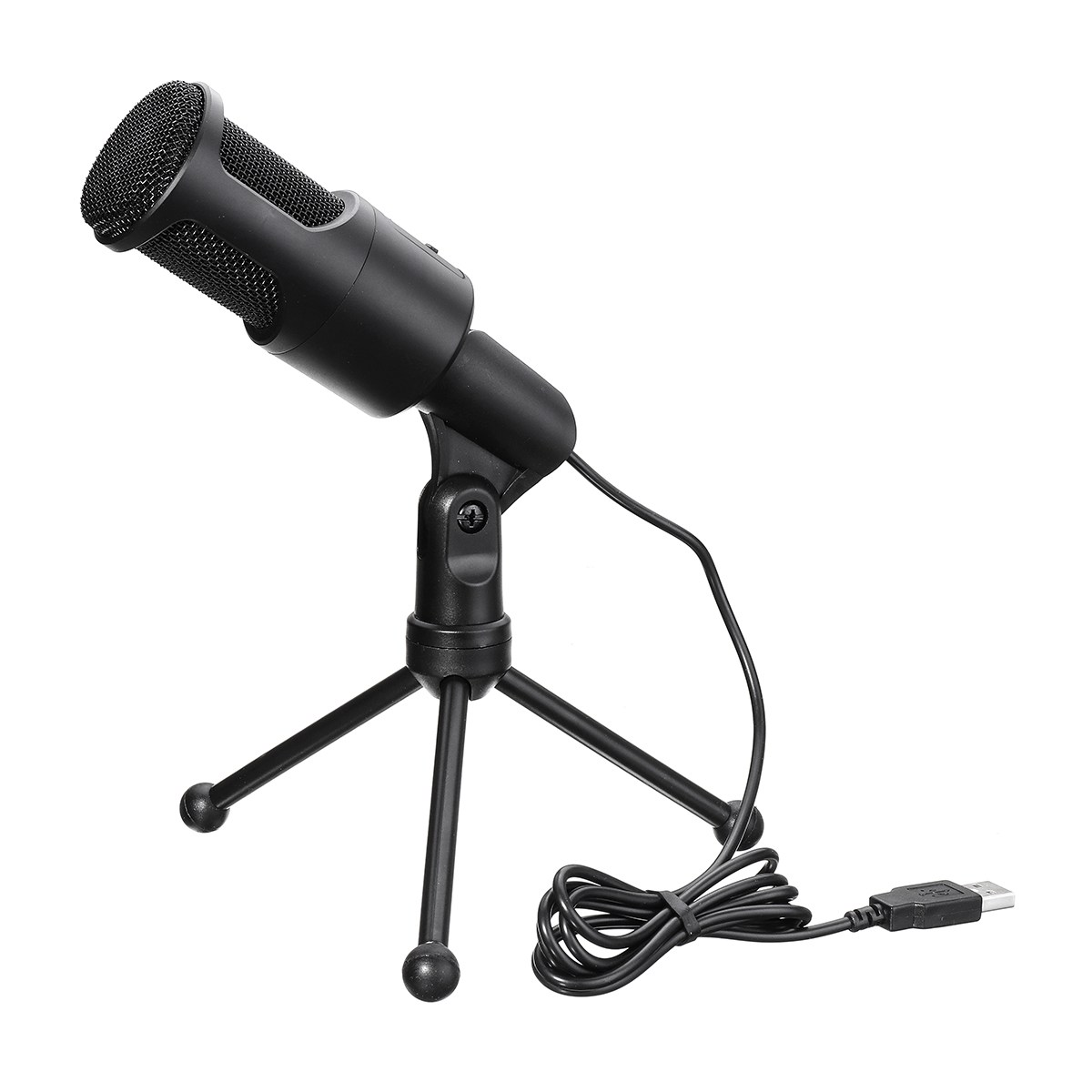 1Set Desktop microphone With Stand Clip USB Handheld Microphones For PC Laptop Mic Chatting Karaoke
