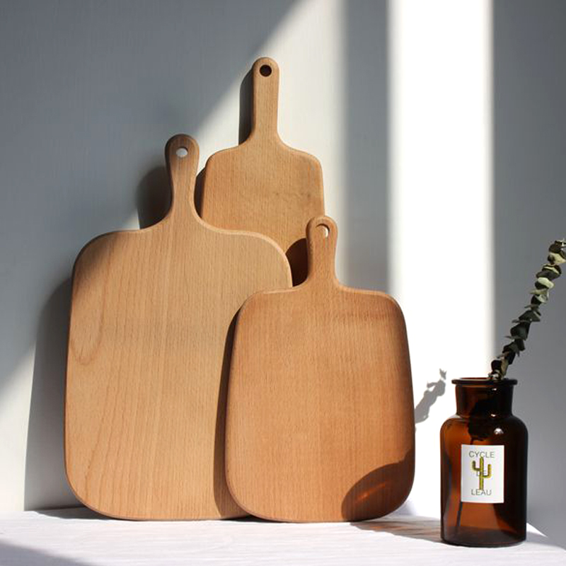 Wood Cutting Board Wooden Bread Board Pastry Cheese