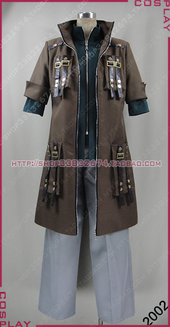 God Eater Amemiya Rindo Cosplay Costume Custom Any Size 2002