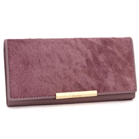 2019 New Desigh Fashion Famous Brand Womens Wallet Horsehair Cowhide Popular Colour Ladies Wallets Card Holder Woman Long Wallet
