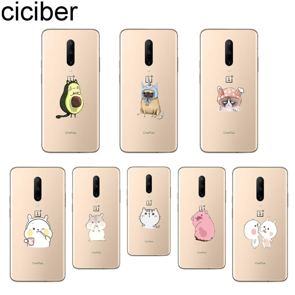 ciciber Cartoon Cat Phone Case For font b Oneplus b font font b 7 b font