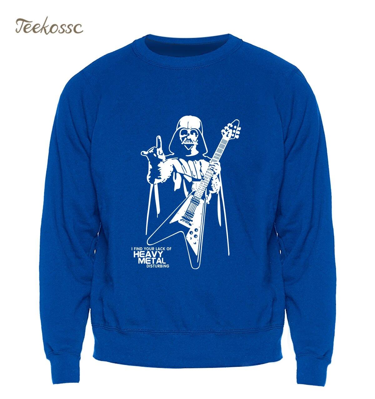 US $10.56 38% OFF|Star Wars Hoodie Darth Vader Sweatshirt Men Heavy Metal Designer Funny Sweatshirts Winter Autumn Fleece Warm Streetwear