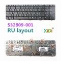 NEW RU Keyboard for HP CQ71 G71 RU Laptop Keyboard 532809-001
